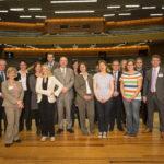 Nach dem Steuerberatertag 2012 stehend K.O., aber immer noch gut gelaunt: Das DStV-Team in Hamburg 2012.