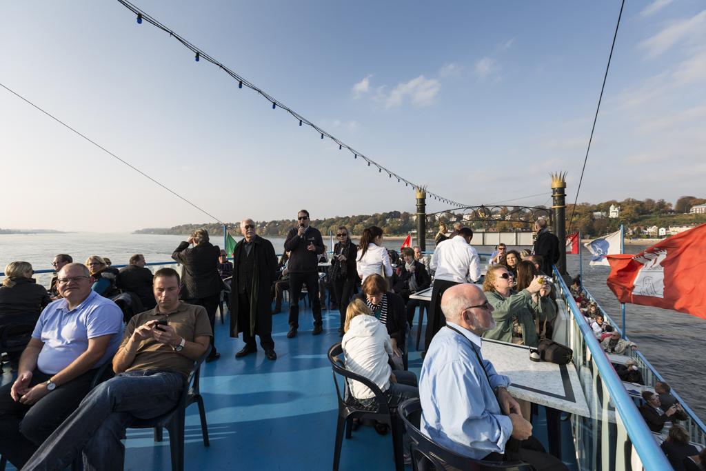 Hafenrundfahrt in Hamburg mit dem DStV auf dem Steuerberatertag 2012
