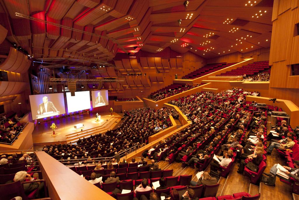 Festlicher Rahmen. BStBK-Kongress 2011 in der Münchener Gasteig.