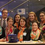 Silvia Stroh-Endlicher (links) organisiert mit ihrem Team die Münchener Steuerfachtagung.