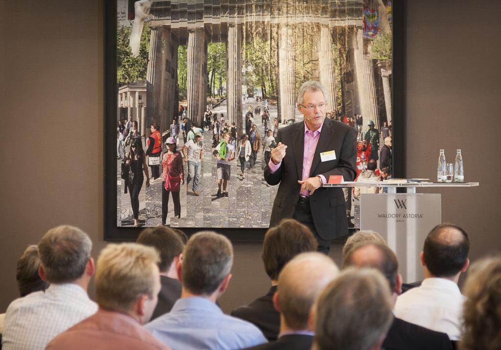 StB Reinhard Stemmer auf dem 2. NWB Steuerberater-Forum