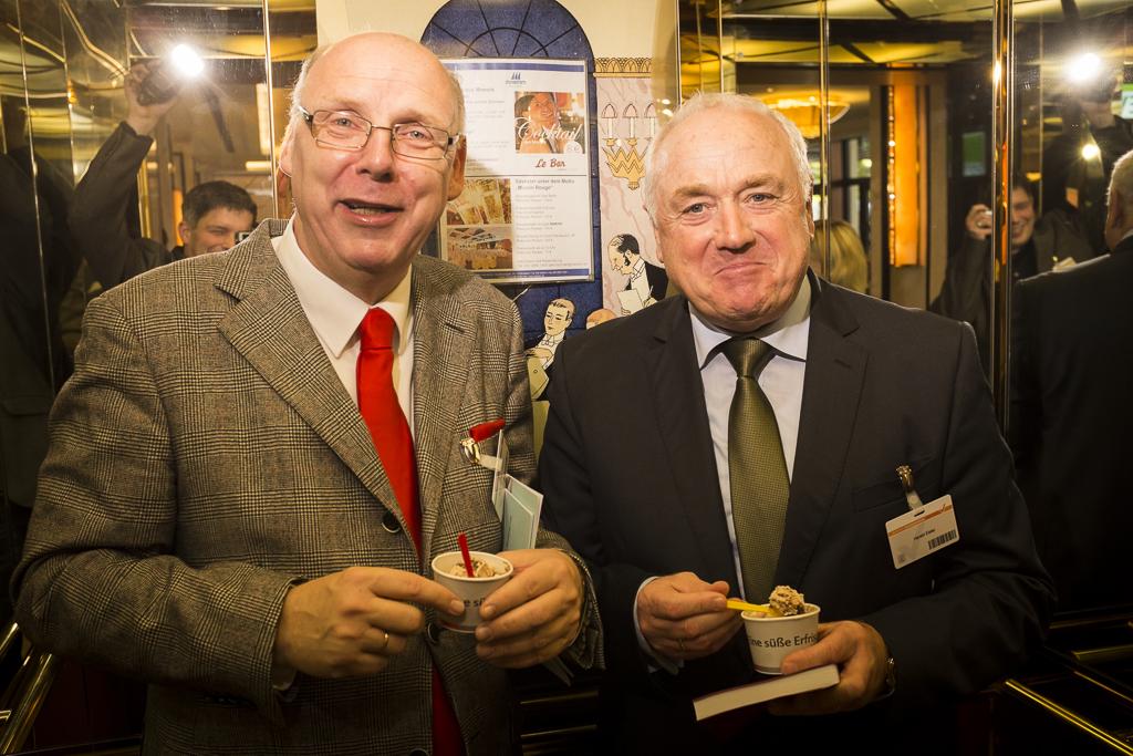 Harald Elster und Axel Pestke