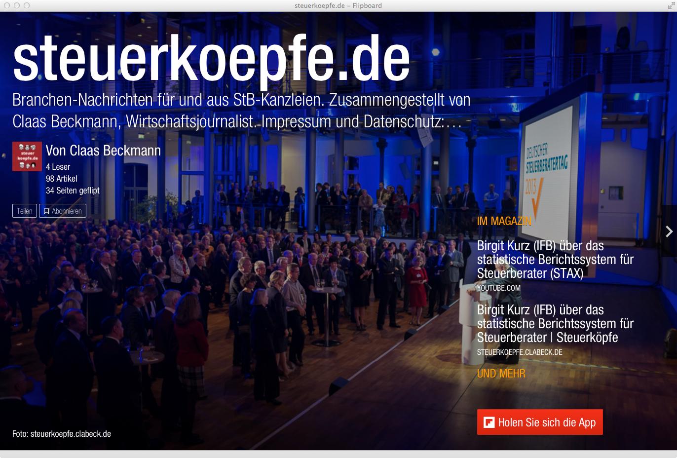 steuerkoepfe.de auf Flipboard