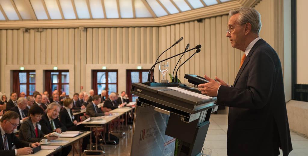 Horst Vinken auf dem Finanzgerichtstag