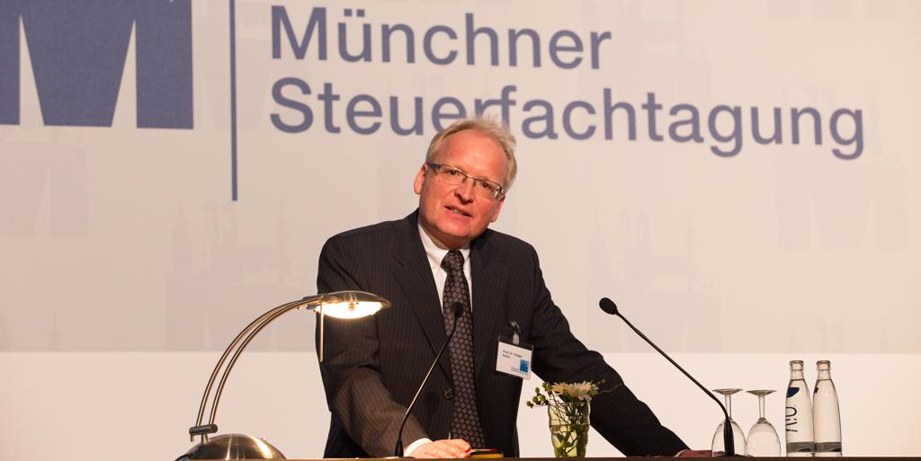 Prof. Dr. Holger Kahle auf der Münchner Steuerfachtagung 2014