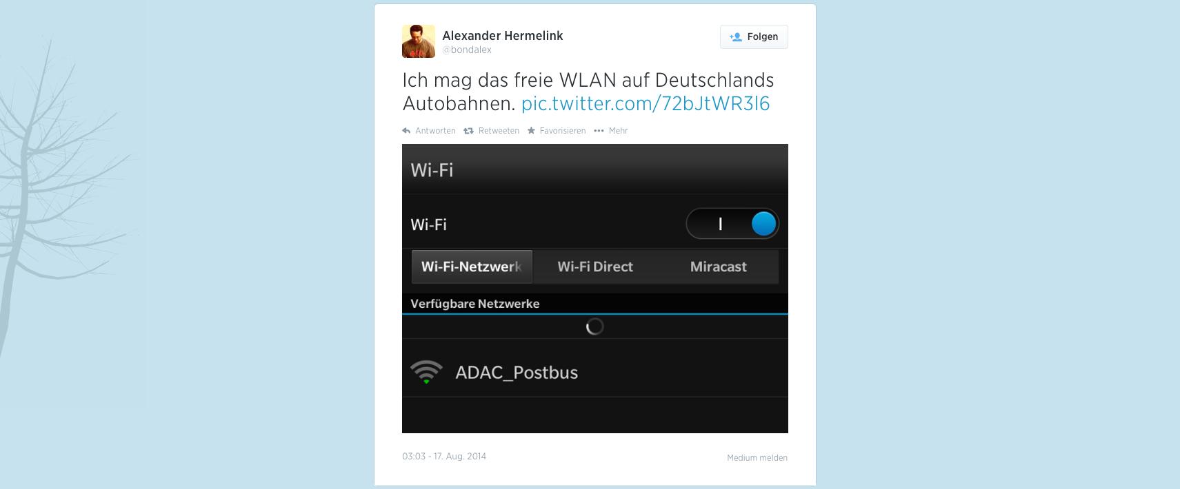 Tweet von Alexander Hermelink, [@bondlatex](https://twitter.com/bondlatex)