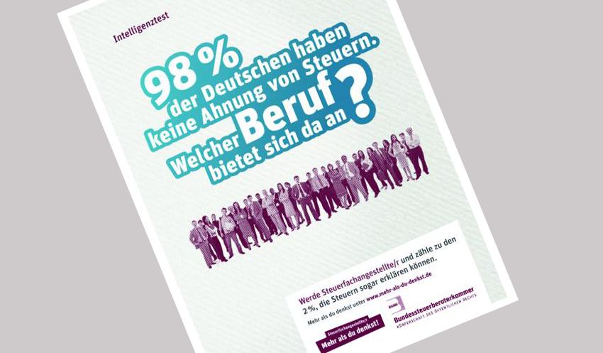 Kampagnen-Motiv der BStBK zur Azubi-Werbung