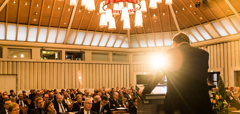 BFH-Präsident Rudolf Mellinghoff auf dem Finanzgerichtstag 2015 in Köln