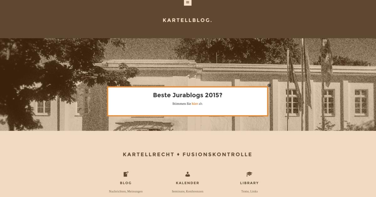 Screenshot kartellblog.de