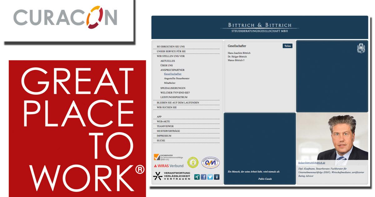 Great Place to Work: Bittrich & Bittrich, Curacon