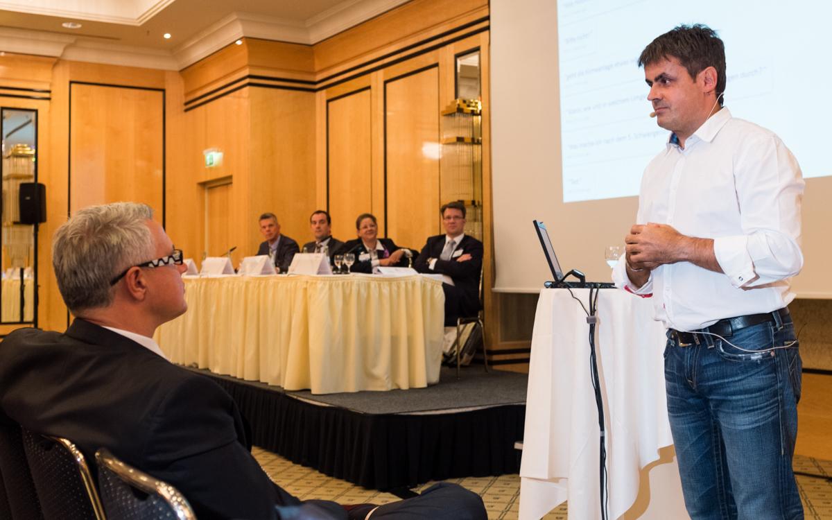 StB Stefan Lami als Referent auf dem Steuerberatertag 2013.