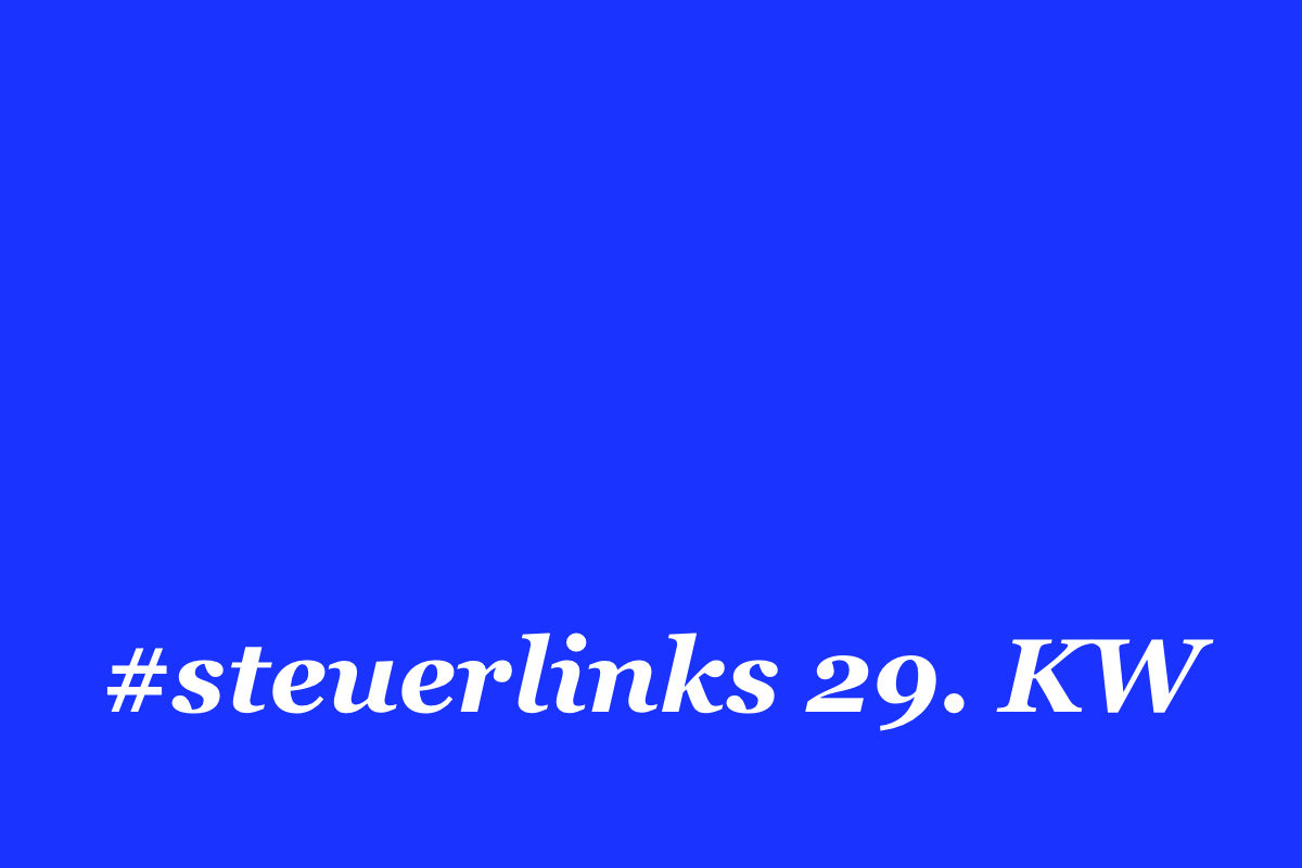 steuerlinks 29. KW