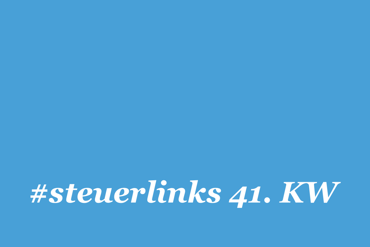 steuerlinks kw 41