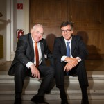 Harald Elster mit HDI-Vorstand Walter Drefahl.