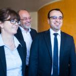 v.l. StBin Bettina Engelke, StB Joachim Oehlmann, StB Khalid Aspeir