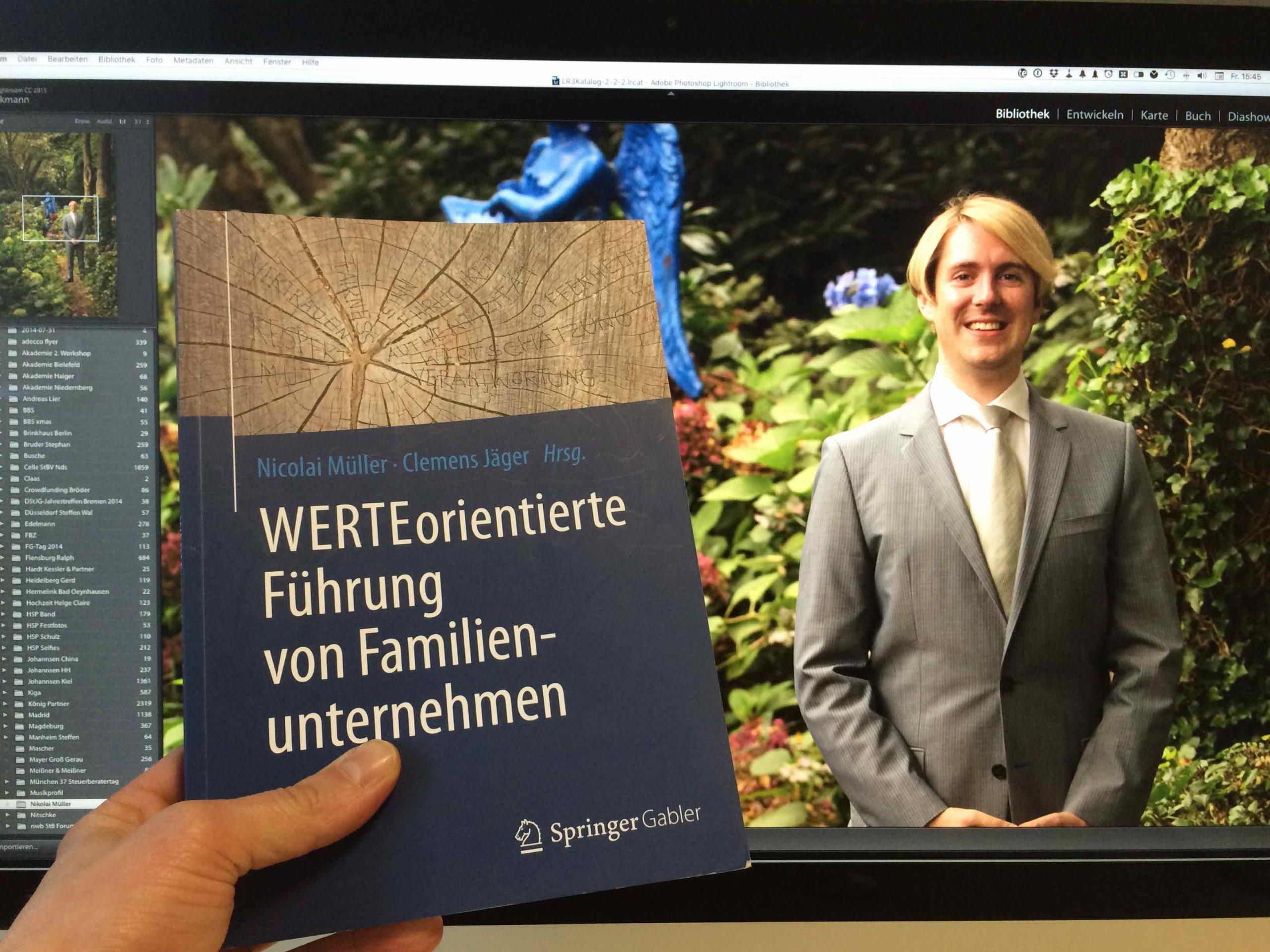StB Nicolai Müller und sein Buch