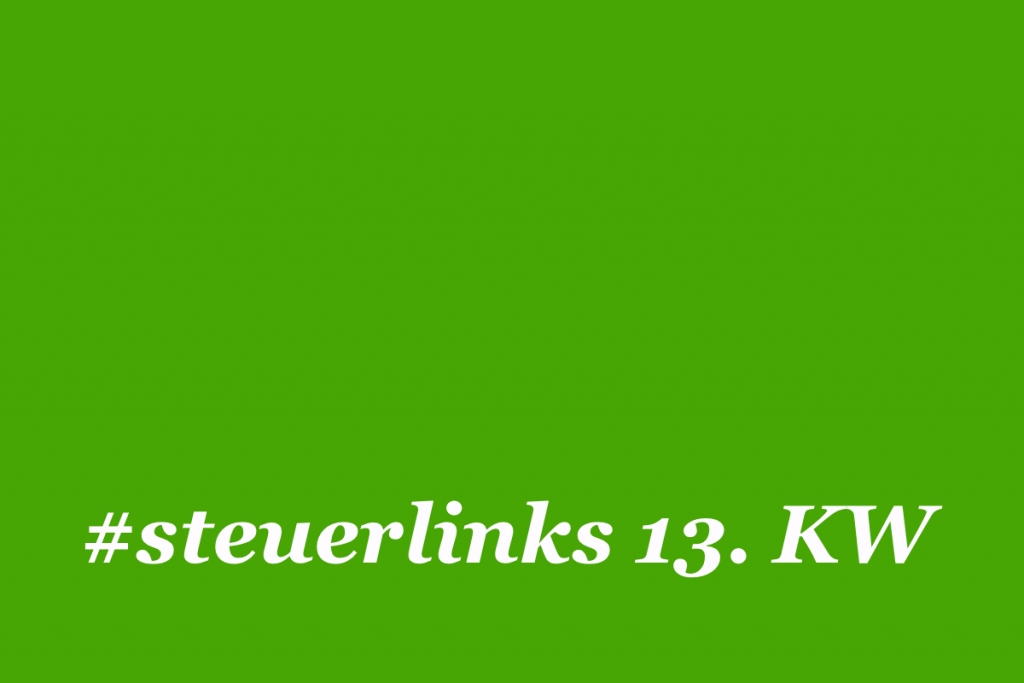 steuerlinks 13. KW
