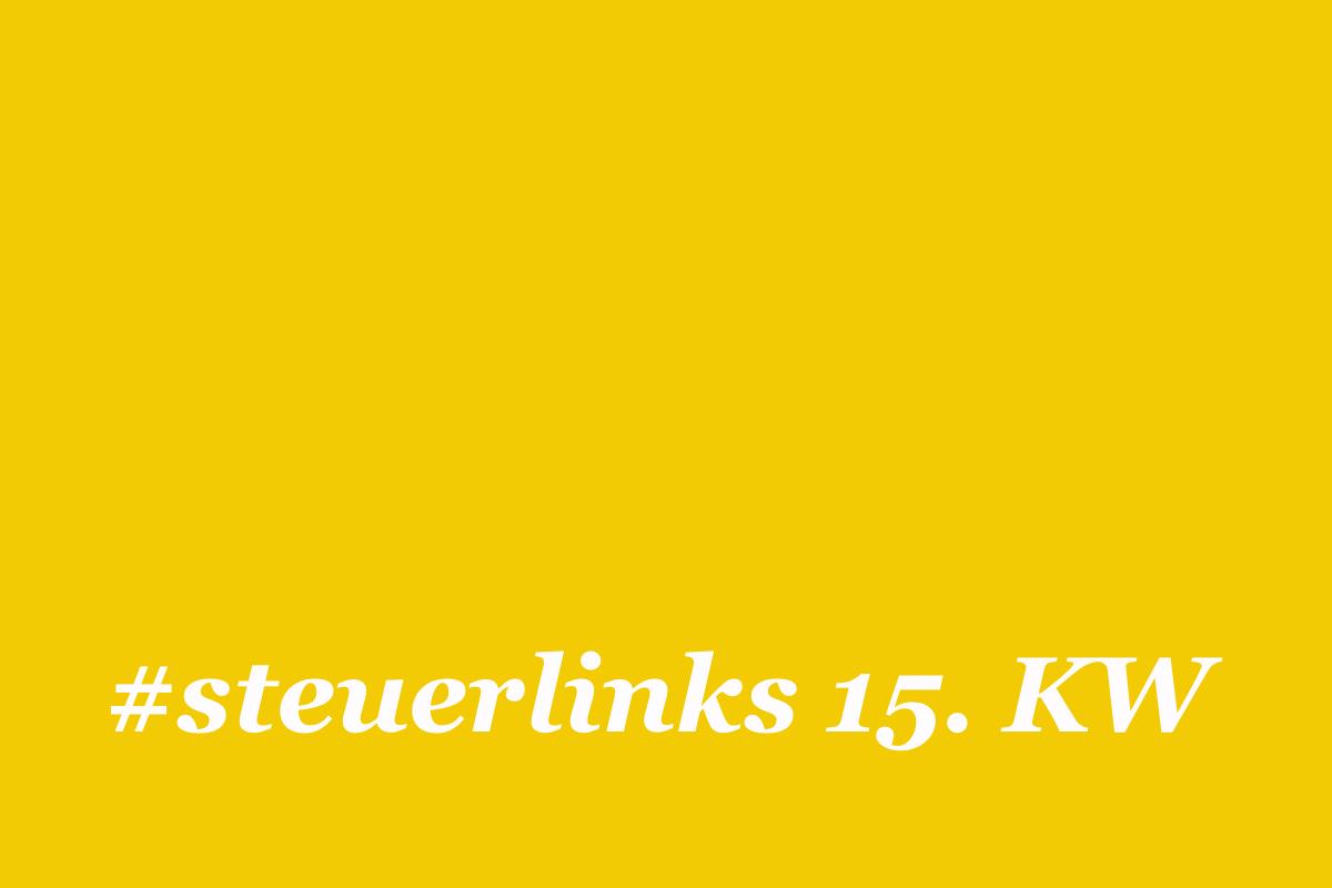 steuerlinks 15. KW