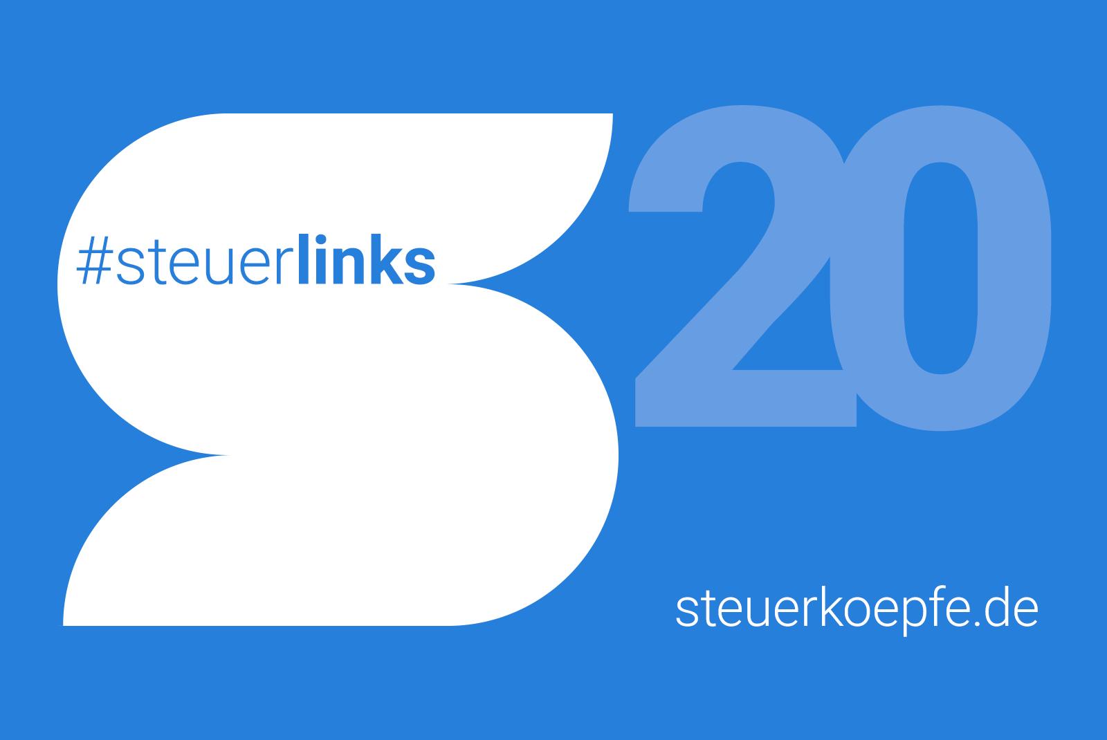 #steuerlinks 20. KW - Steuerköpfe