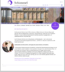 Homepage Kanzlei Schimmel