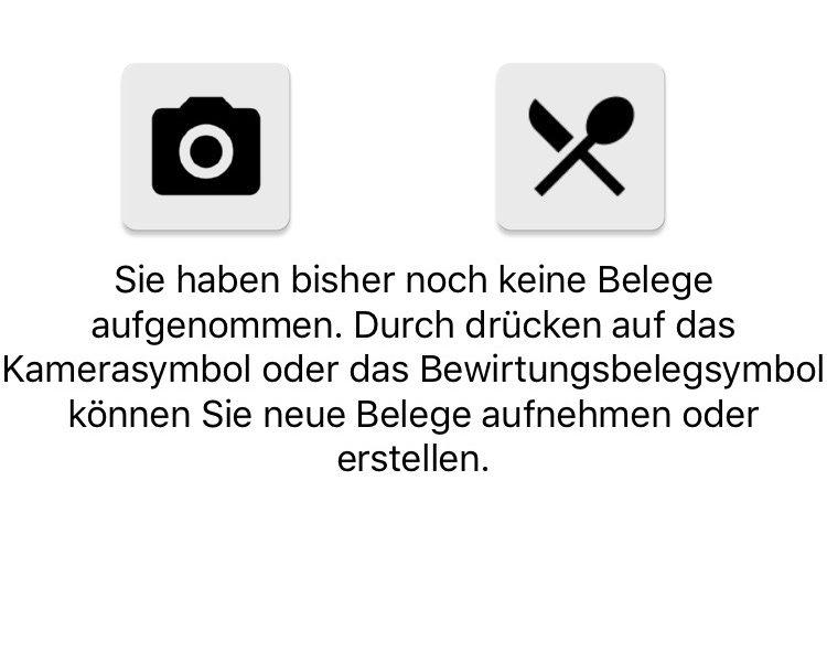 Der Startbildschirm der Digi-Bel-App