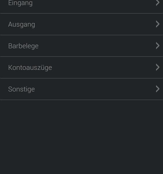 Steuerbüro.Online App: Belegzuordnung