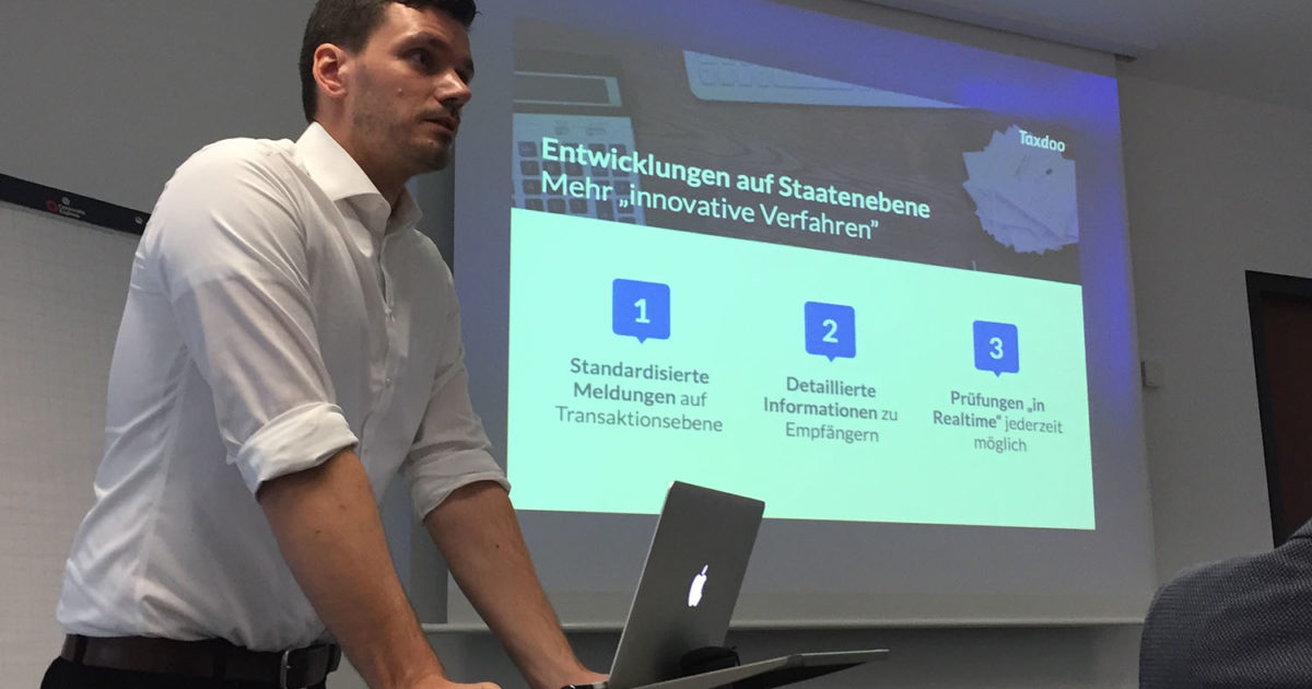 taxdoo, USt, Umsatzsteuer, VAT, e-commerce, Roger Gothmann, taxdoo, steuerköpfe, Interview, VAT, Umsatzsteuer, e-commerce, FBA, ebay, amazon