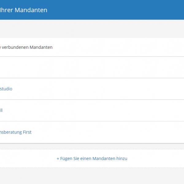 Dowload der Buchungssätze und Belegbilder in der lexoffice cloud-Buchhaltung