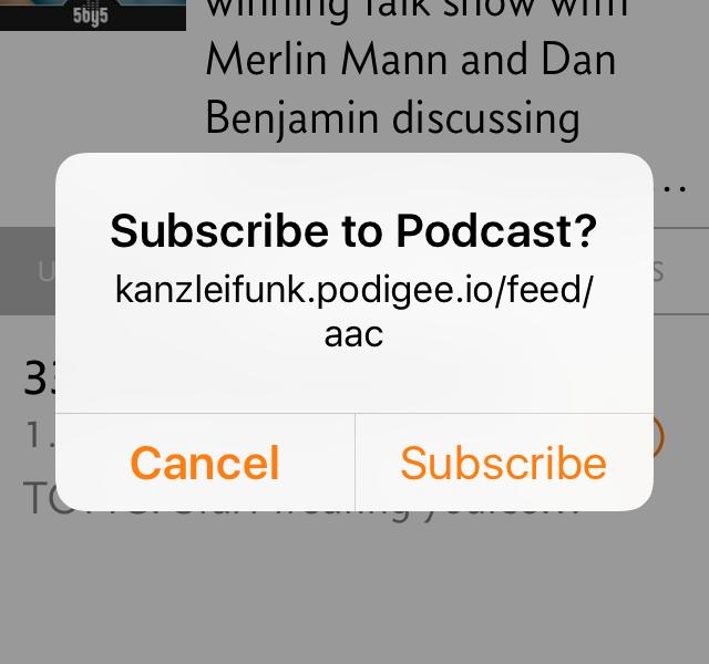 Und öffnet anschließend die gewählte App.