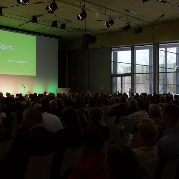 Rund 1200 Gäste auf dem Datev-Kongress in Nürnberg. Insgesamt konnte die Datev an den vier Veranstaltungsorten 4000 Gäste begrüßen.
