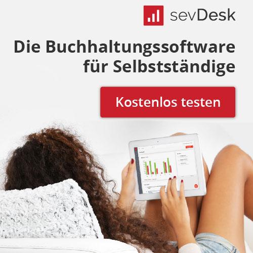 SevDesk –Buchhaltung für Selbstständige