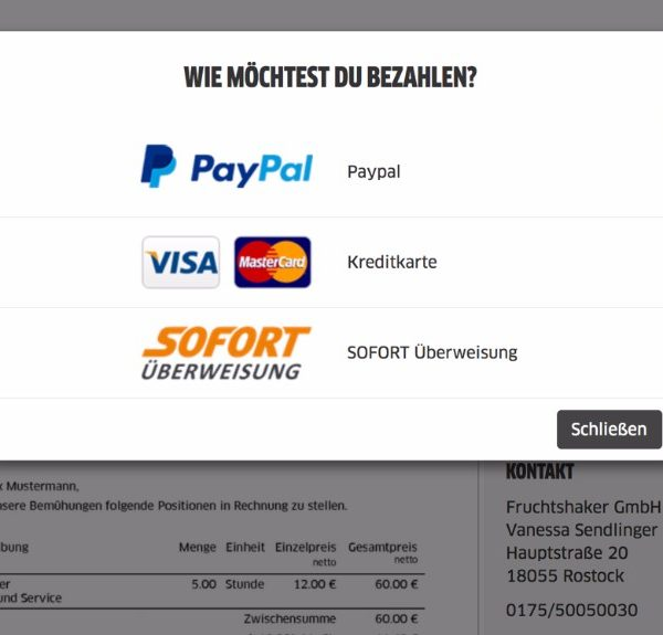 FastBill Paypal