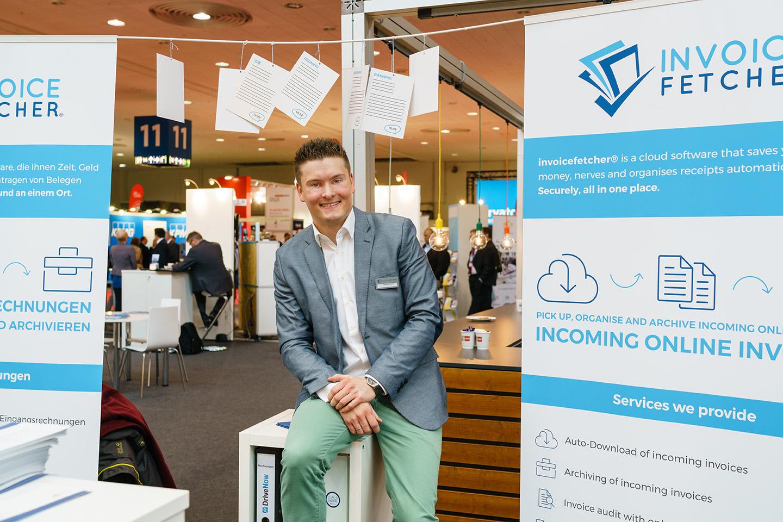invoicefetcher, Phillip Strauch, Rechnungsabholung, Foto: Andreas Herz