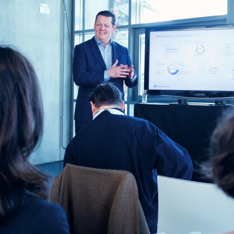 Stefan Wahle, Managing Director von Wolters Kluwer Tax & Accounting Deutschland