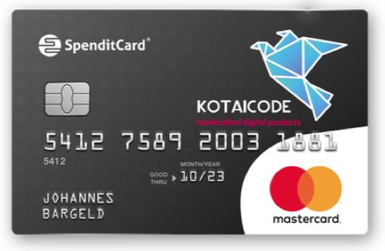spenditcard selber aufladen