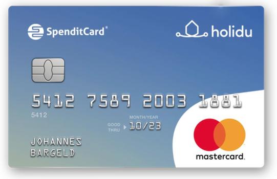 Spendit Card Mastercard Mitarbeiterbenefits 44 Euro Sachzug