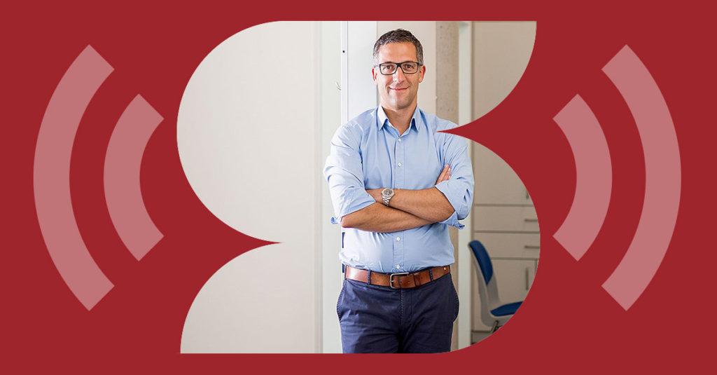 Podcast Kanzleifunk, Claas Beckmann, Steuerköpfe, steuerkoepfe.de. Foto: Pio Mars
