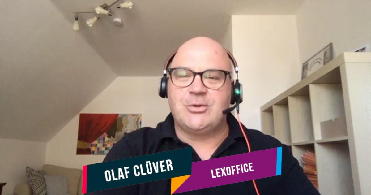 Olaf Clüver, Lexoffice