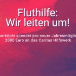 VIP: Fluthilfe –Wir leiten um!